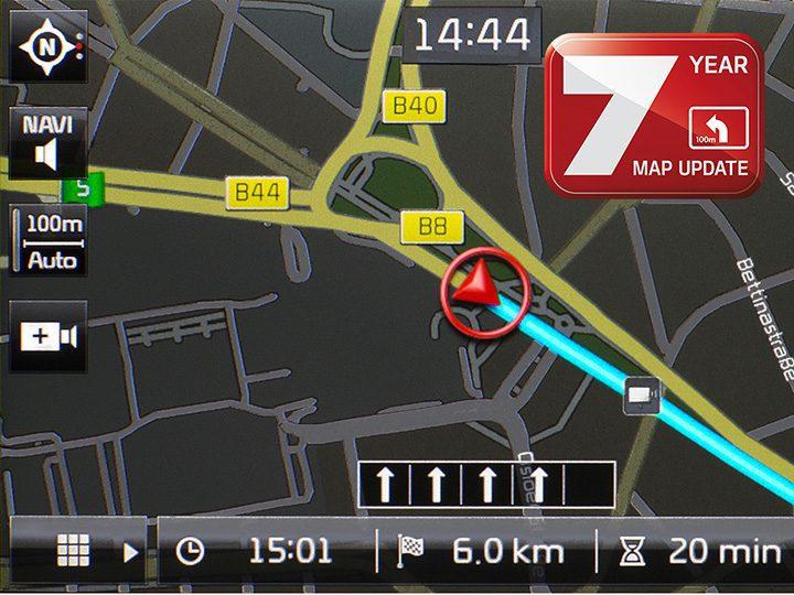 Navigatie Kia